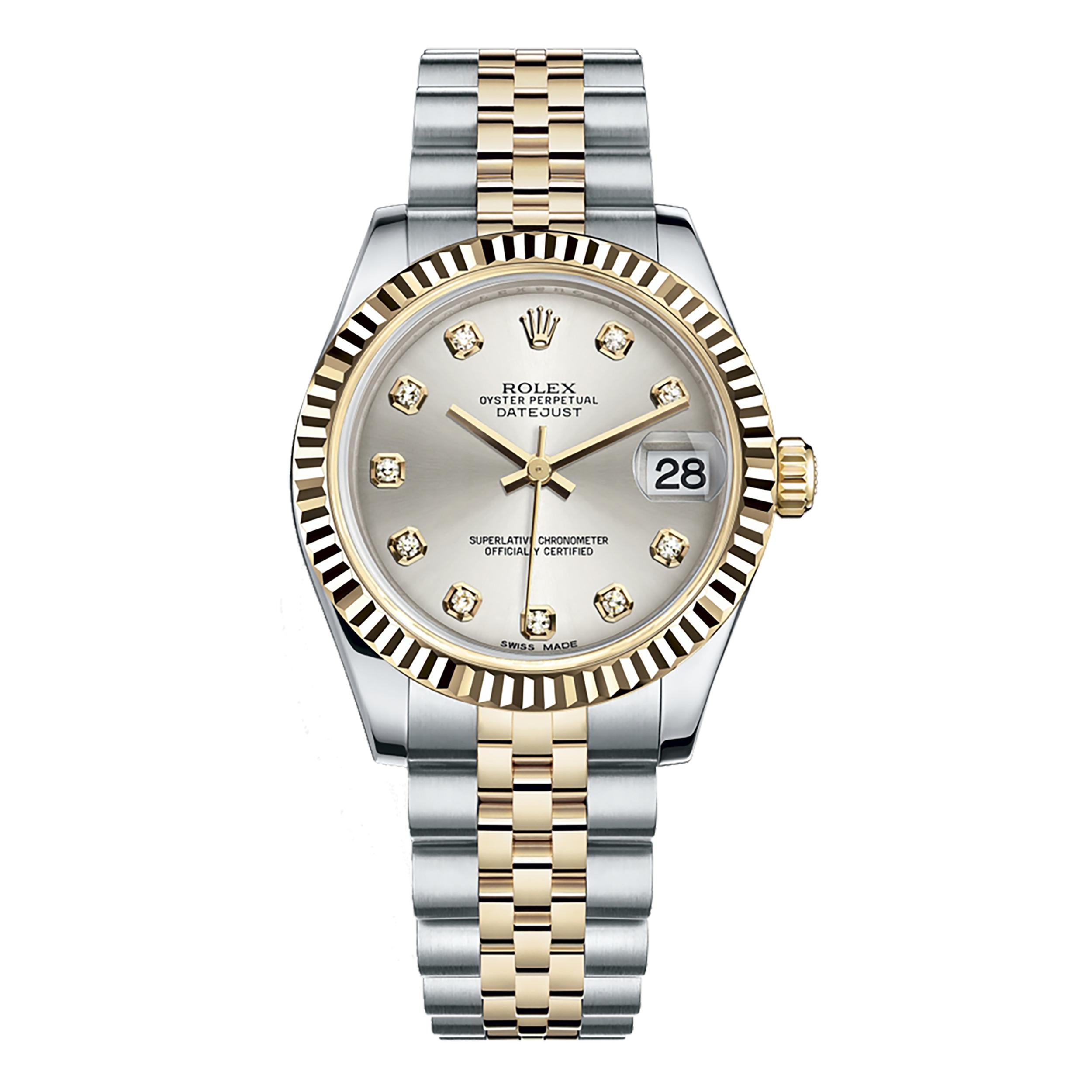 ساعت مچی عقربه ای زنانه مدل Datejust کد 178273