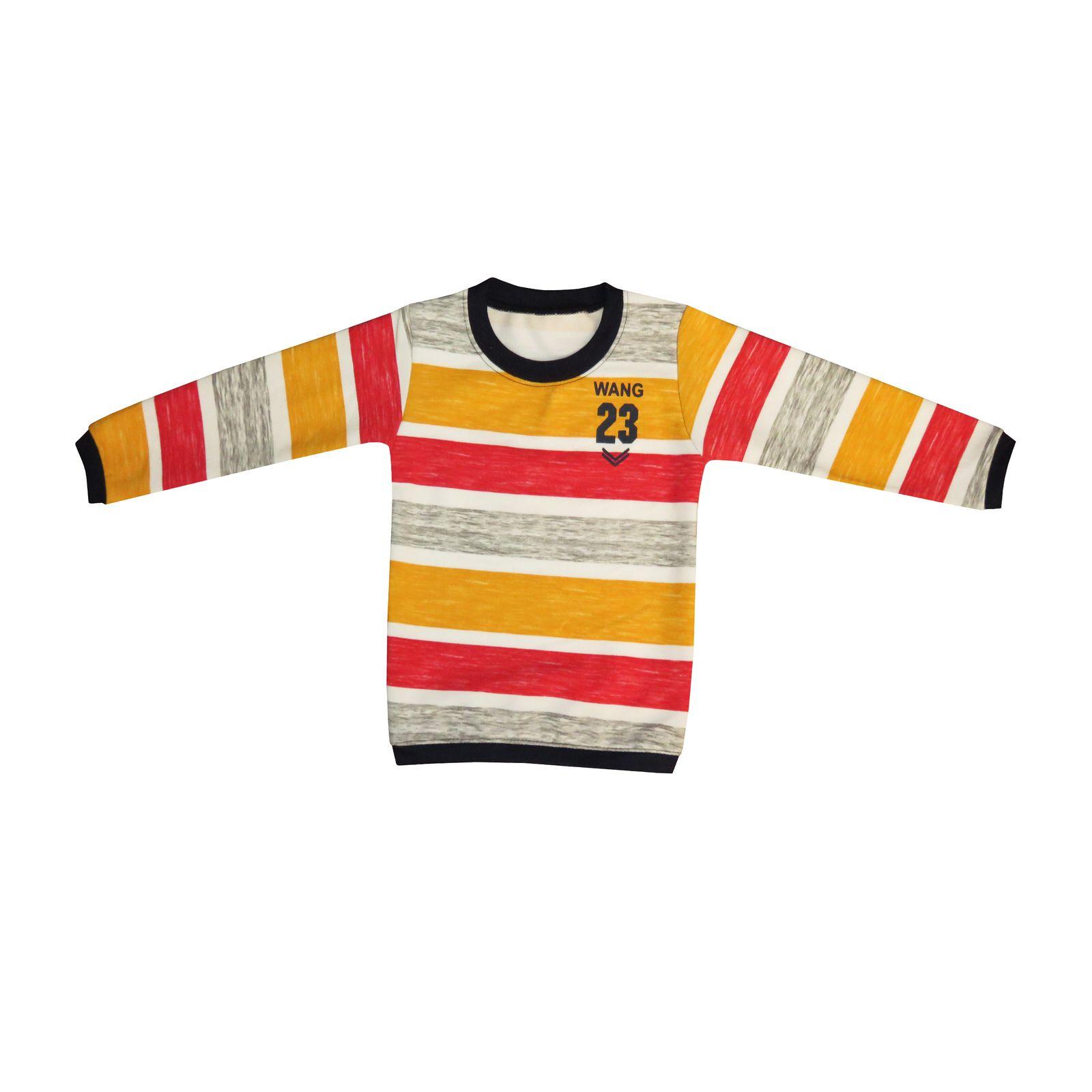 تی شرت آستین بلند پسرانه کد 0006 -  - 3