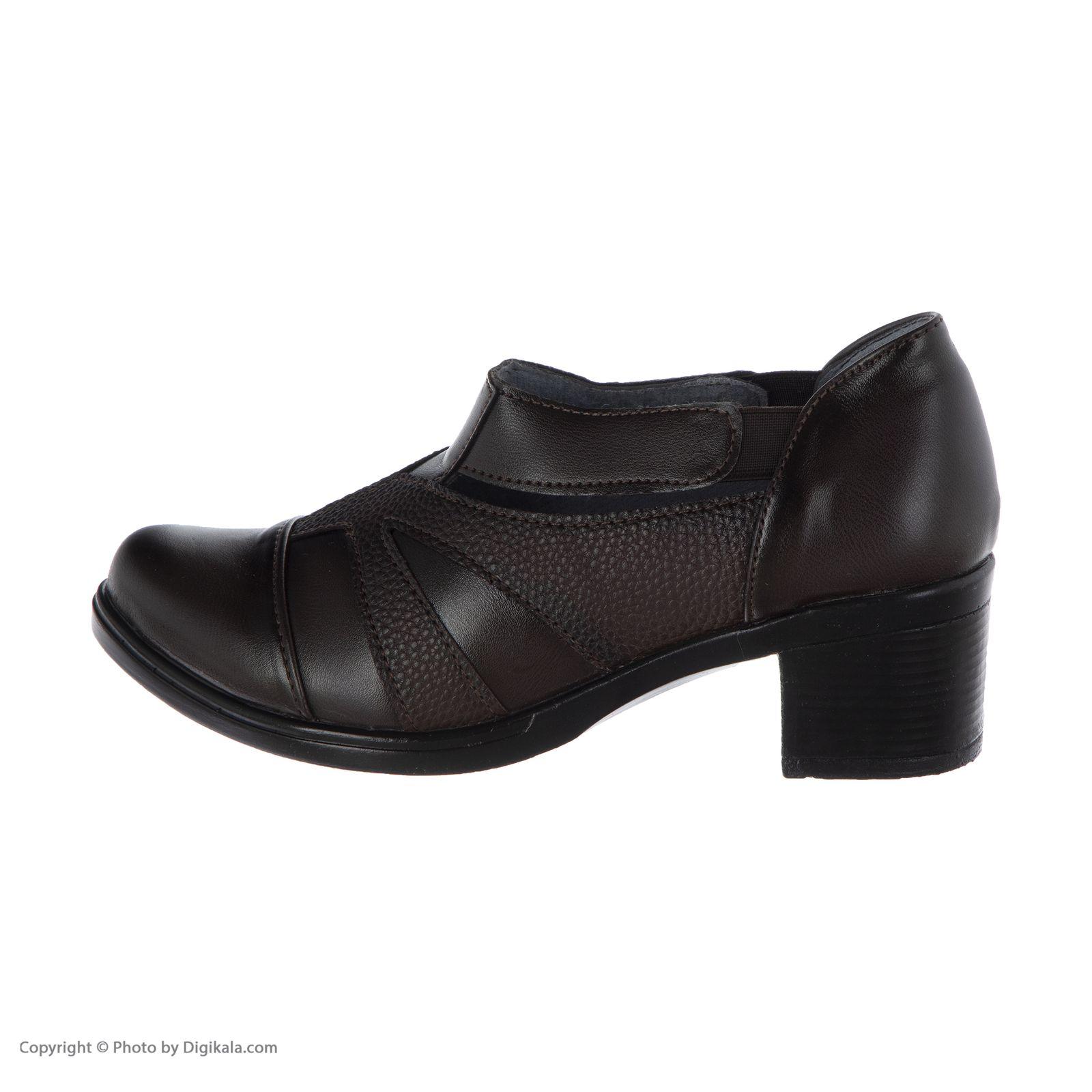 کفش زنانه طبی سینا مدل رها  کد 2 رنگ قهوه ای main 1 2