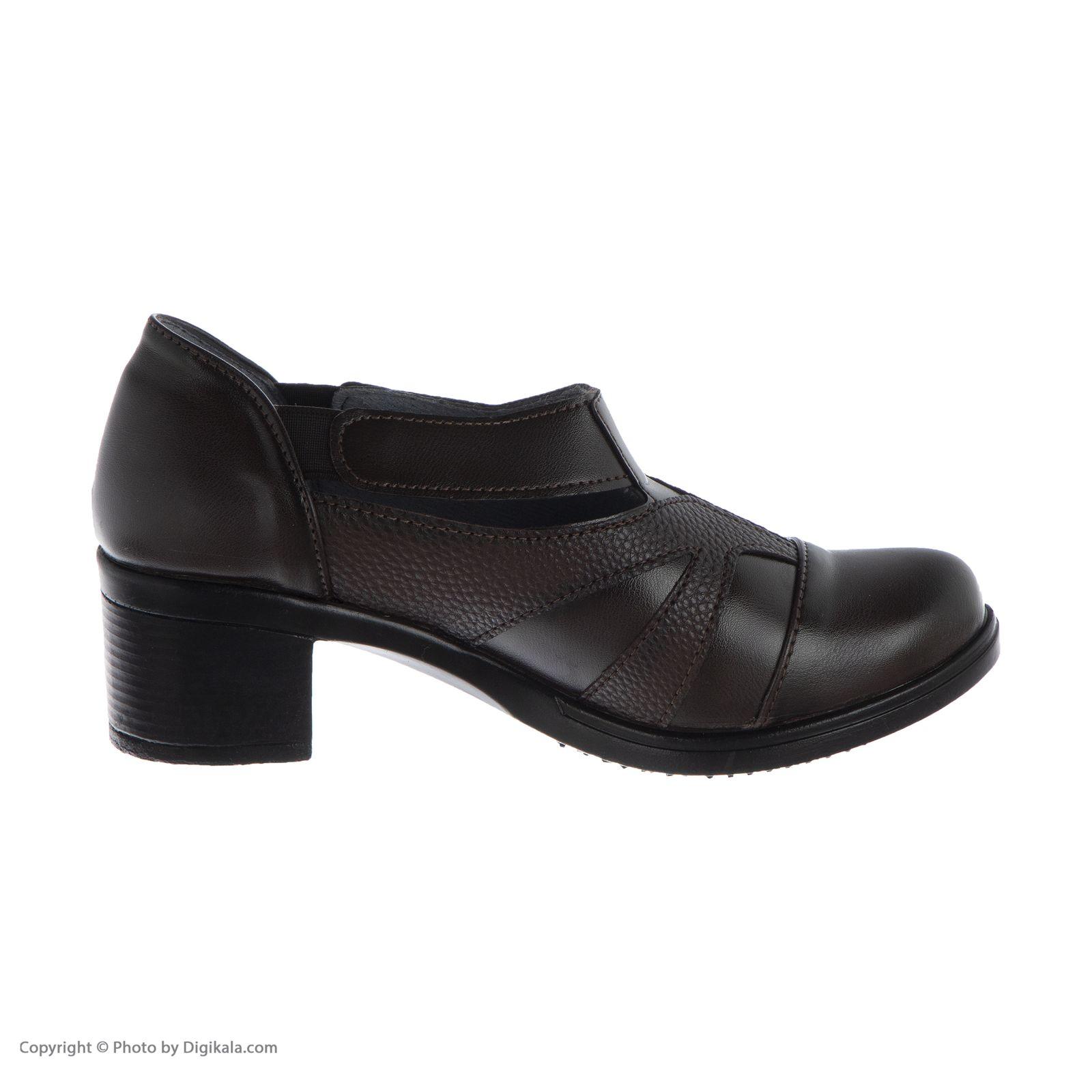 کفش زنانه طبی سینا مدل رها  کد 2 رنگ قهوه ای main 1 3