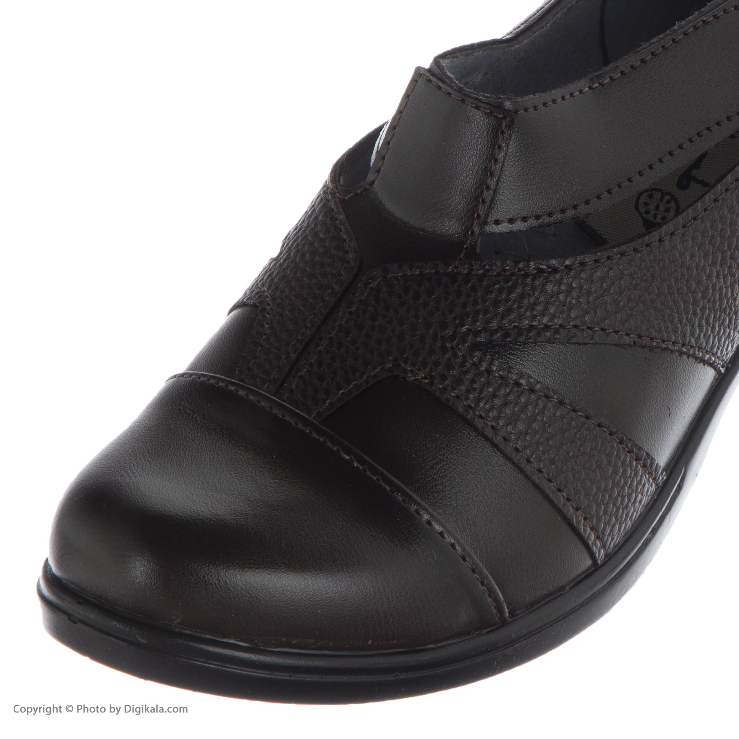 کفش نه طبی سینا مدل رها  کد 2 رنگ قهوه ای