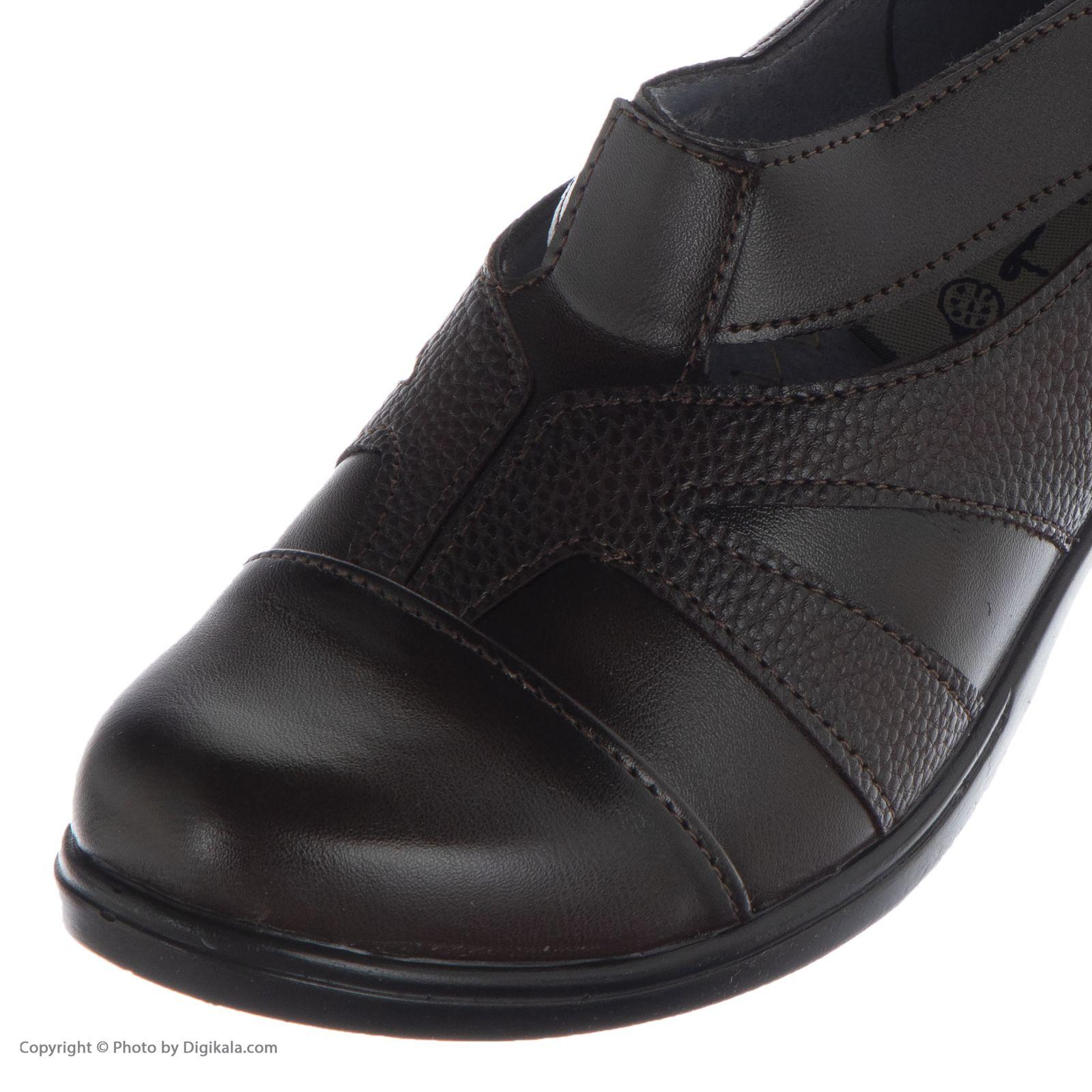 کفش زنانه طبی سینا مدل رها  کد 2 رنگ قهوه ای main 1 4