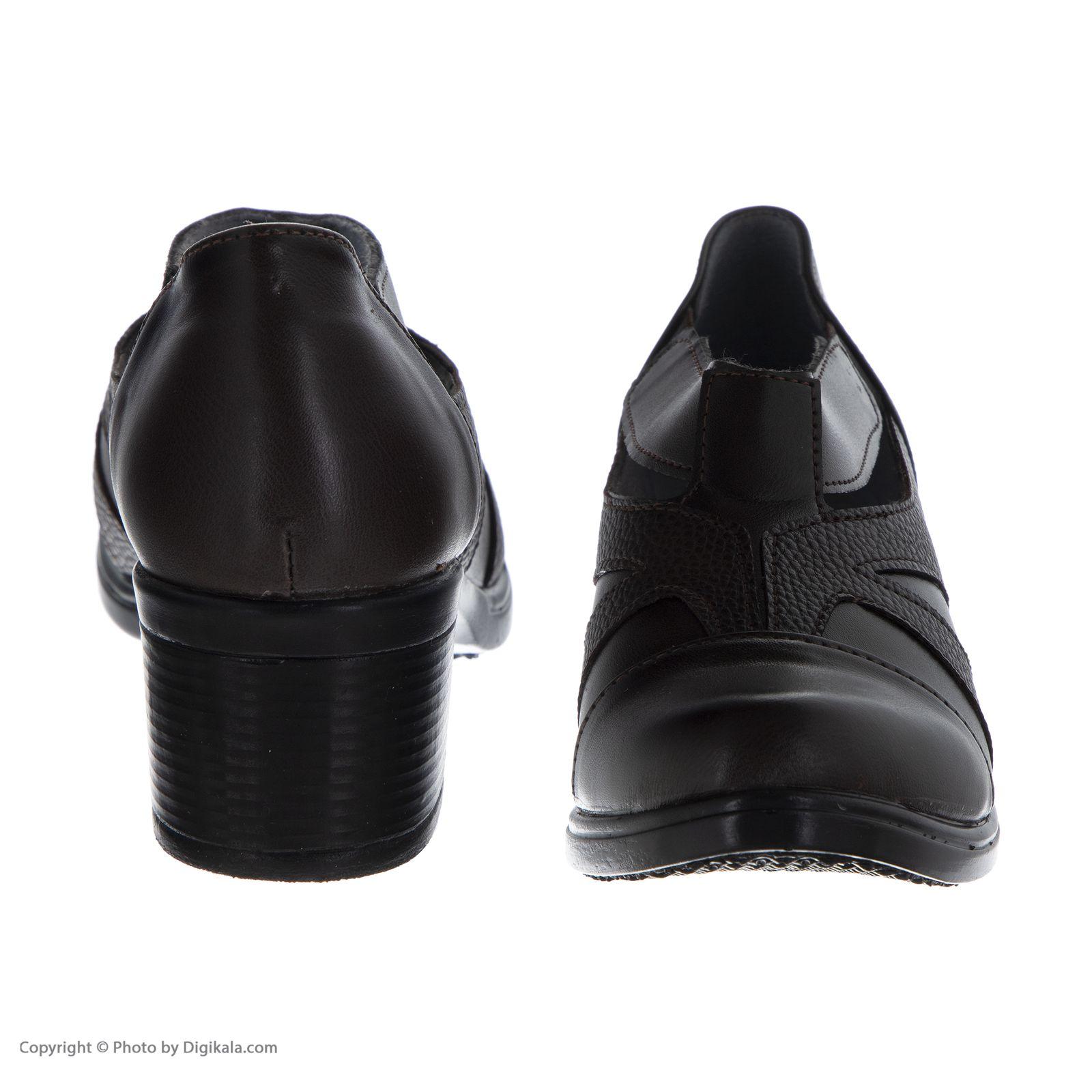 کفش زنانه طبی سینا مدل رها  کد 2 رنگ قهوه ای main 1 5