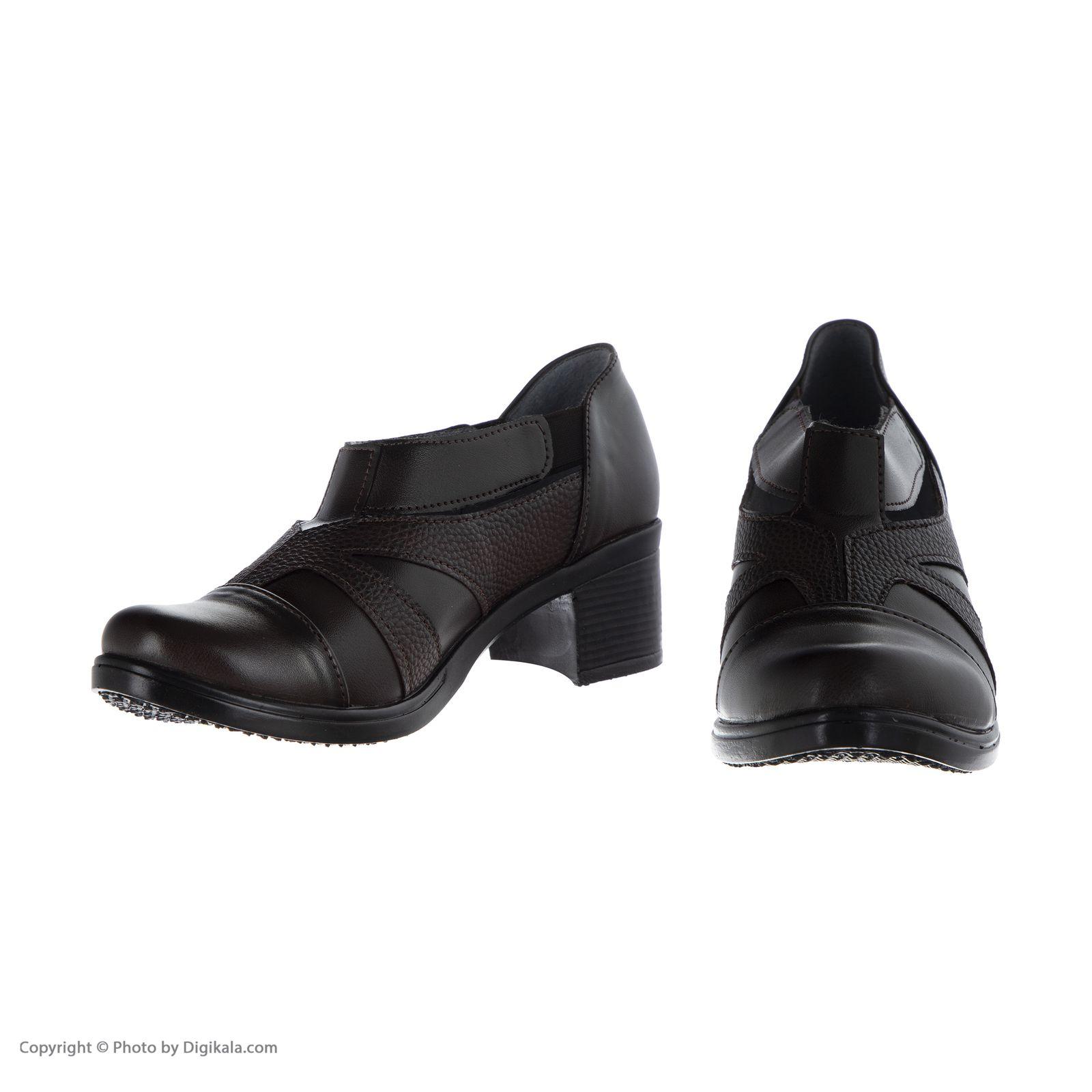 کفش زنانه طبی سینا مدل رها  کد 2 رنگ قهوه ای main 1 1