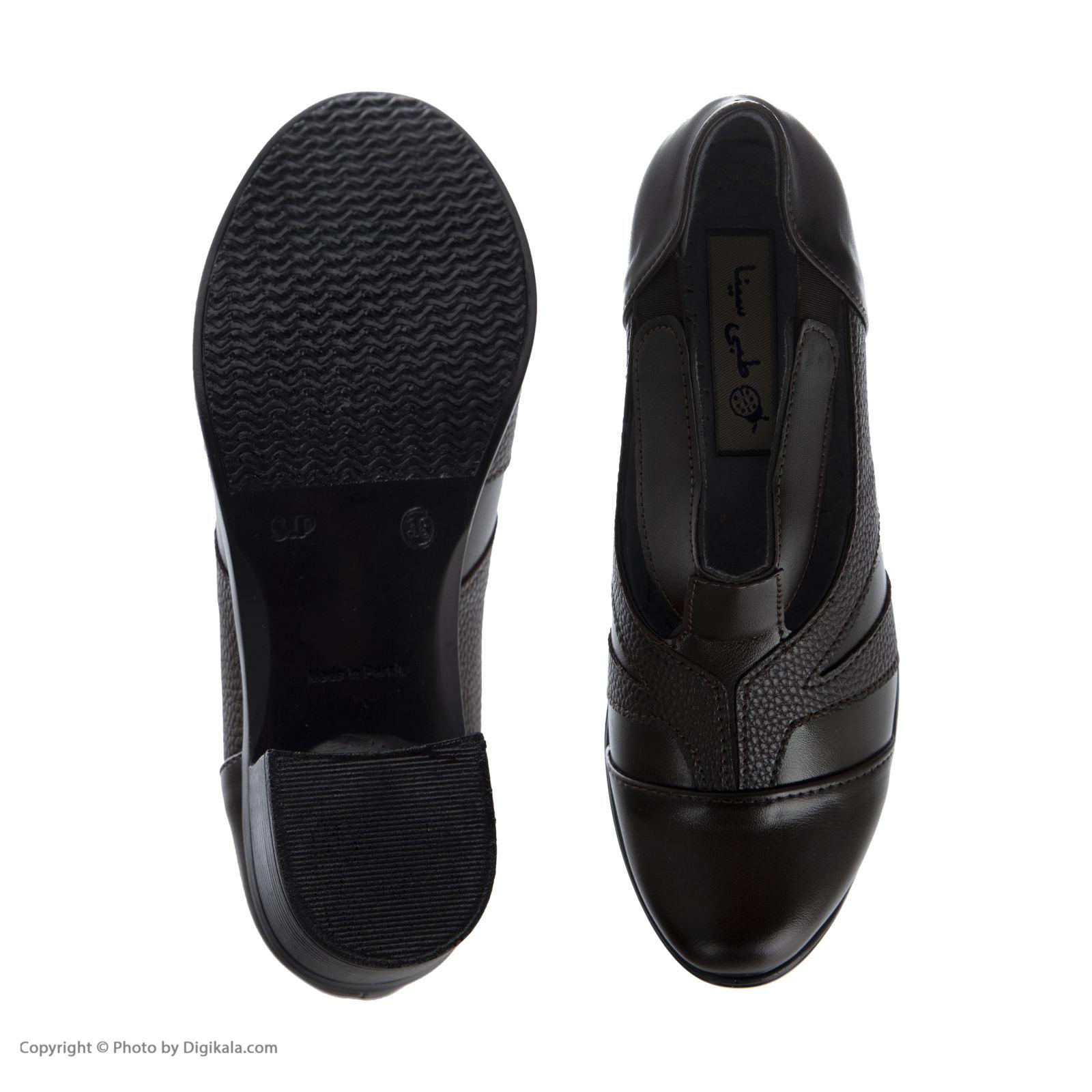 کفش زنانه طبی سینا مدل رها  کد 2 رنگ قهوه ای main 1 7