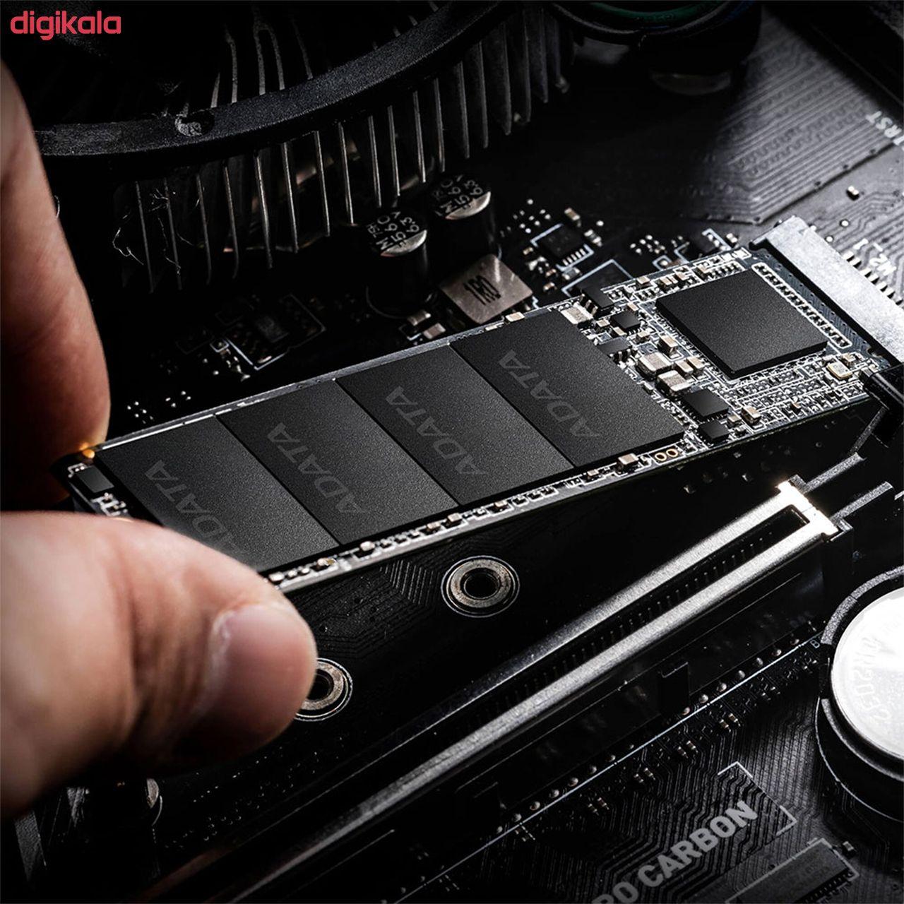 اس اس دی اینترنال ای دیتا ایکس پی جی مدل SX6000 Lite ظرفیت 256 گیگابایت  main 1 4