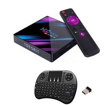 اندروید باکس اچ96 مدل مکس 4/32 - 3318 به همراه کیبورد هوشمند