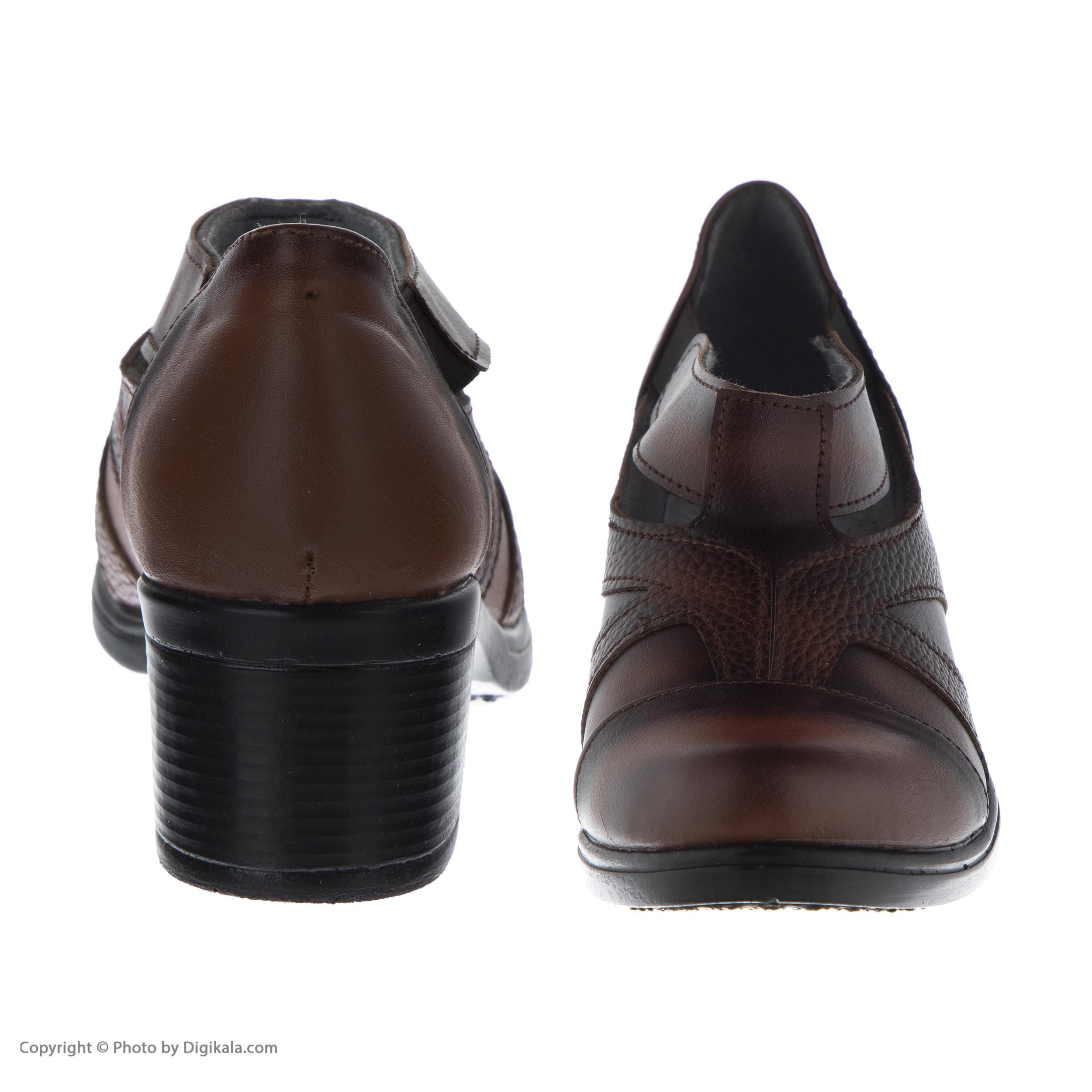 کفش نه طبی سینا مدل رها کد 3 رنگ عسلی