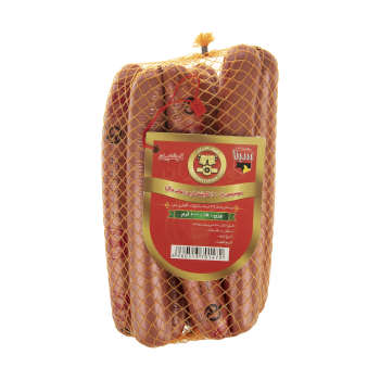 سوسیس هات داگ 60 درصد گوشت گوشتیران - 1 کیلوگرم