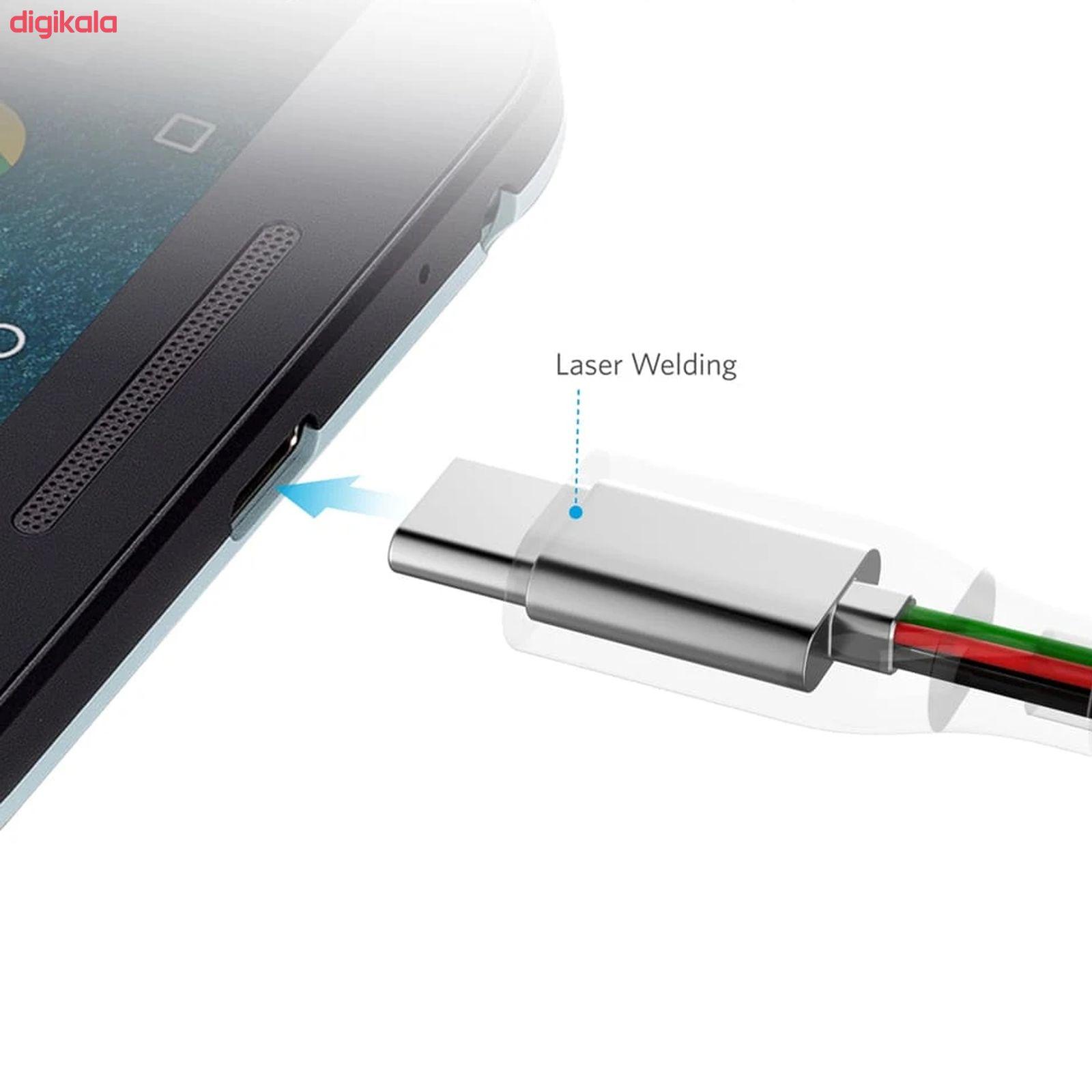 کابل تبدیل USB-C به USB انکر مدل A8168 PowerLine Plus طول 0.9 متر main 1 5
