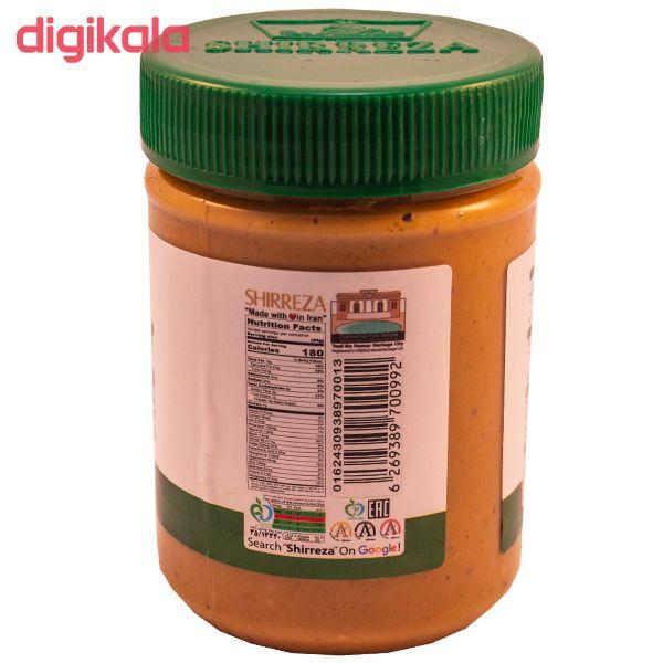 کره بادام زمینی بدون نمک و شکر افزوده شیررضا - 450 گرم main 1 3