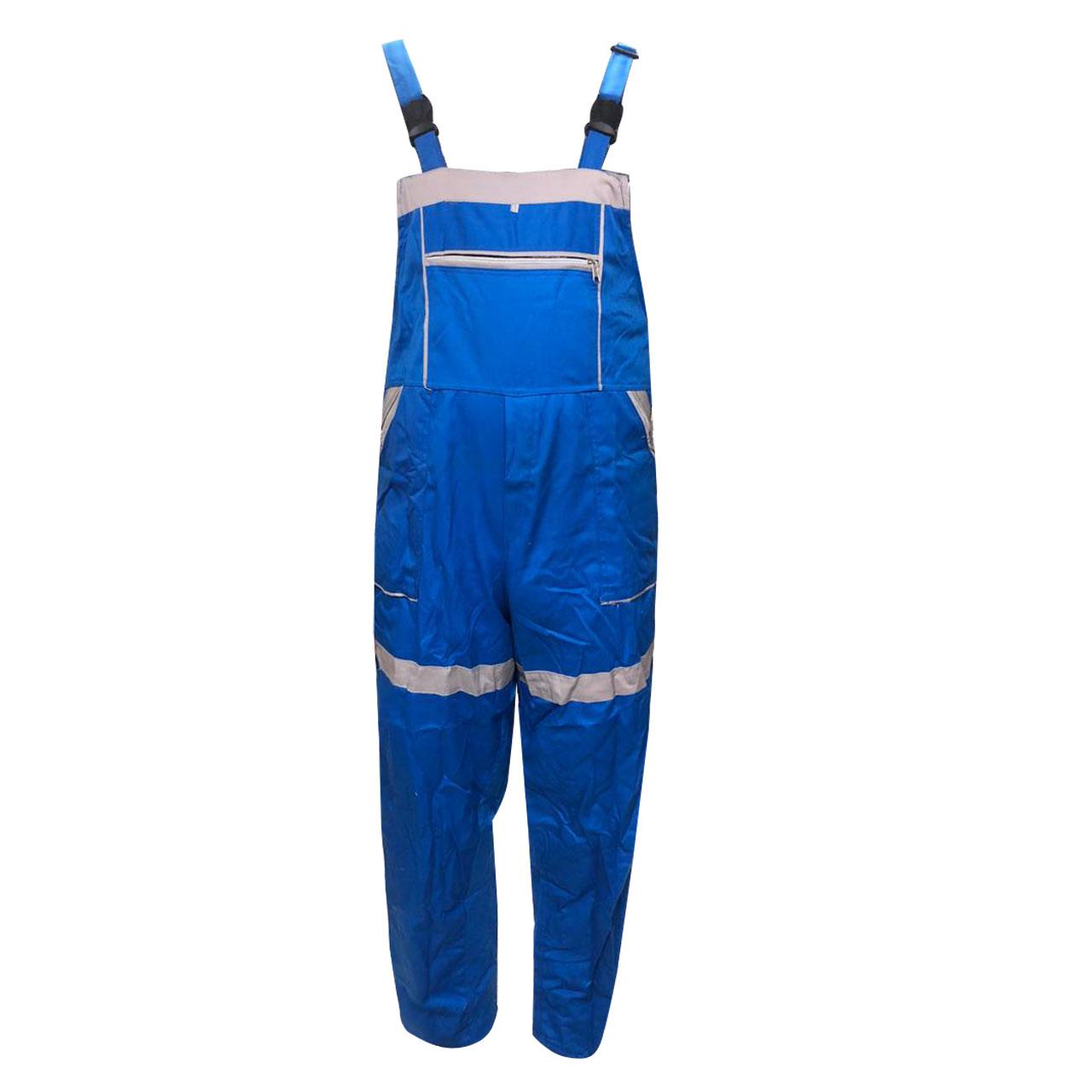 لباس کار مدل IGD-5 رنگ آبی