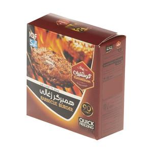 همبرگر زغالی 90 درصد گوشت گوشتیران - 500 گرم