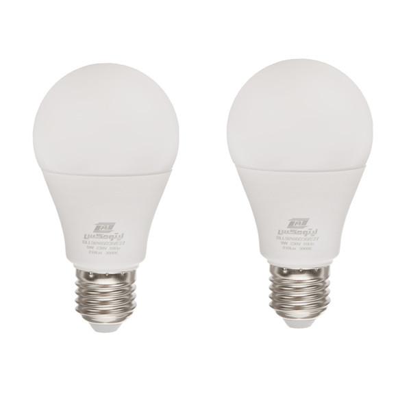 لامپ ال ای دی 9 وات لیتومکس کد 001 پایه E27 بسته 2 عددی