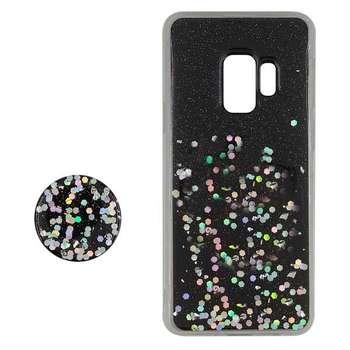کاور مدل SA281 مناسب برای گوشی موبایل سامسونگ Galaxy S9 Plus به همراه پایه نگهدارنده