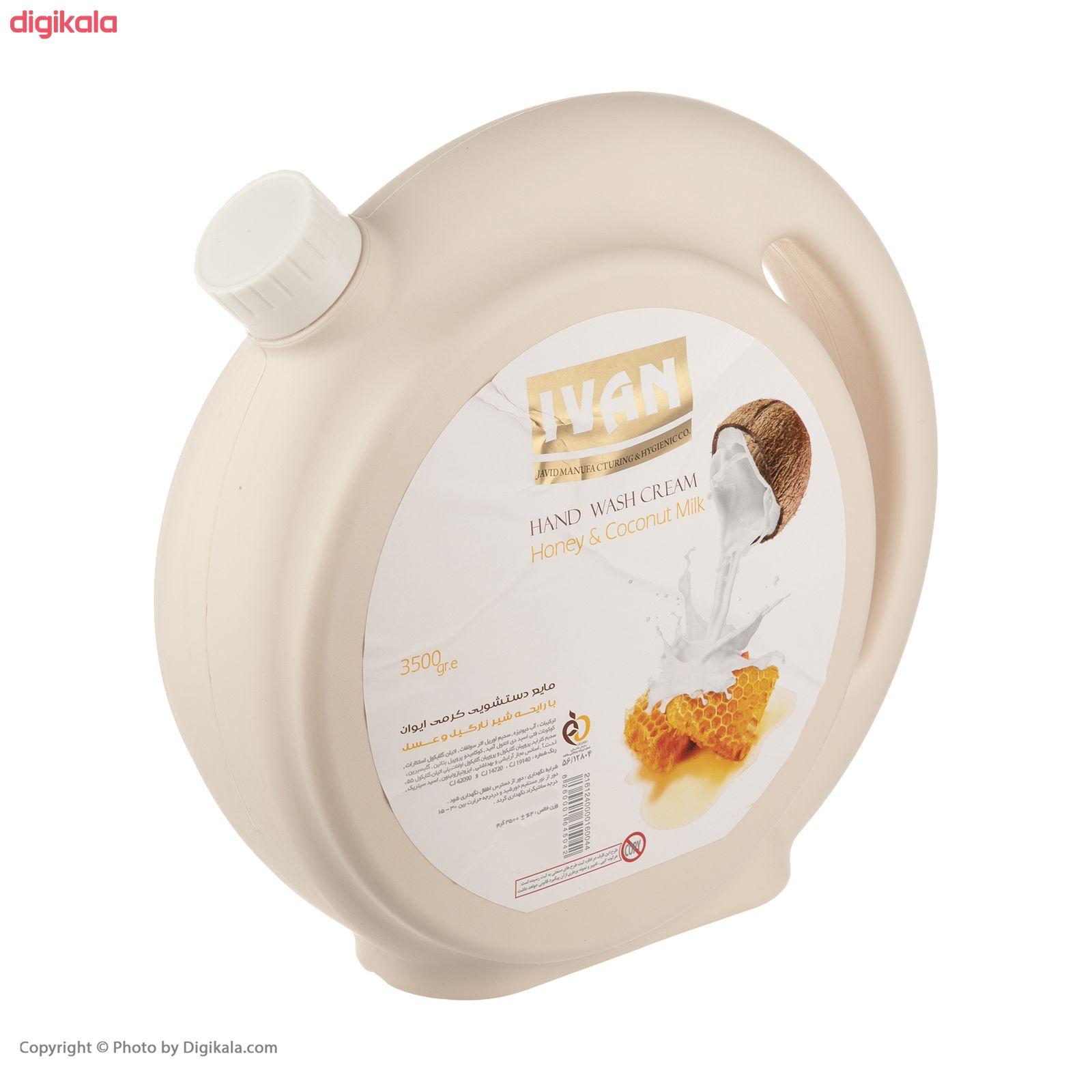 مایع دستشویی ایوان مدل Honey حجم 3.5 کیلوگرم main 1 1