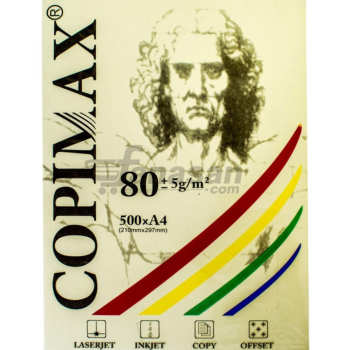 کاغذ رنگی A4 کپی مکس کد 007 بسته 500 عددی