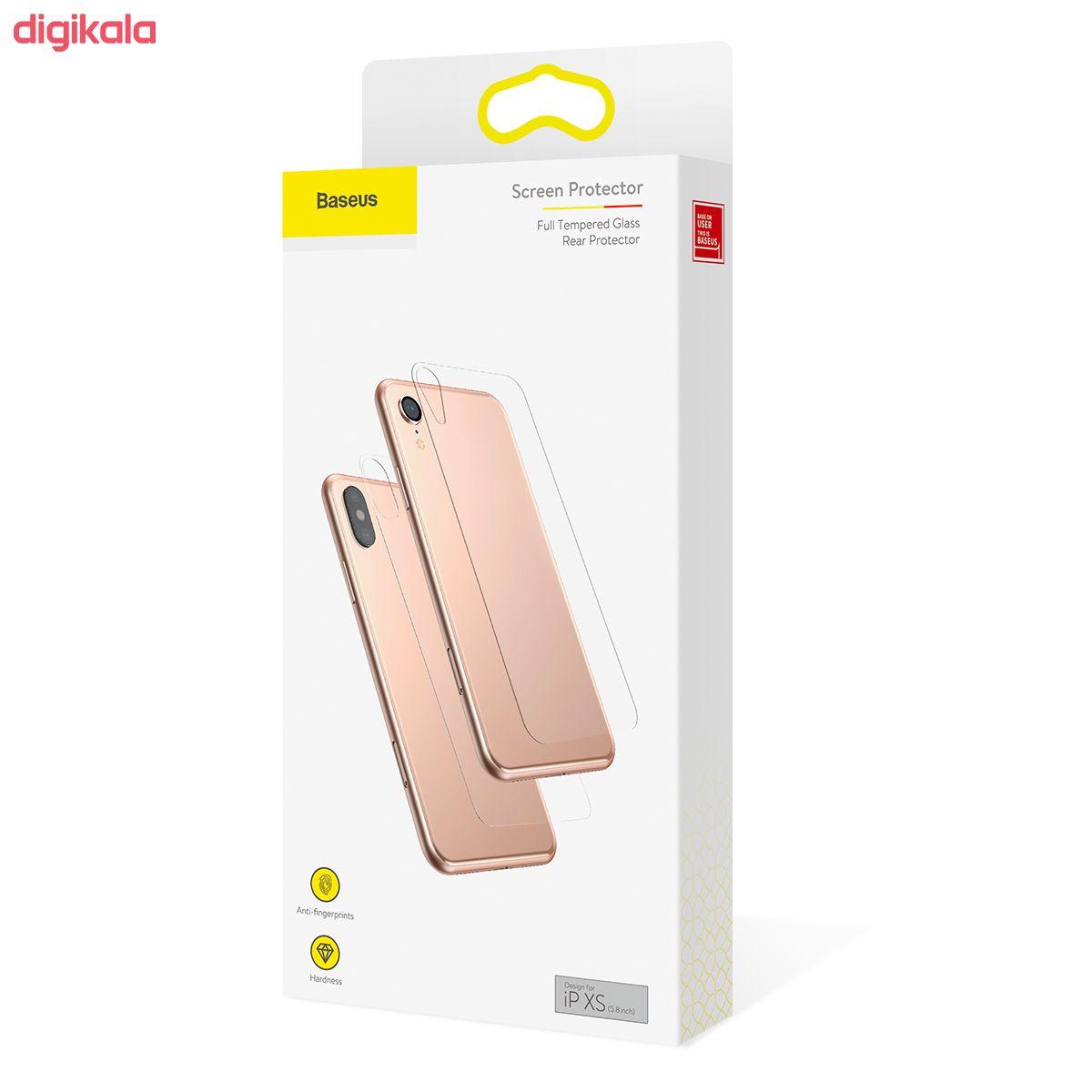 محافظ پشت گوشی باسئوس مدل SGAPIPH58-ABM02 مناسب برای گوشی موبایل اپل Iphone XS main 1 5