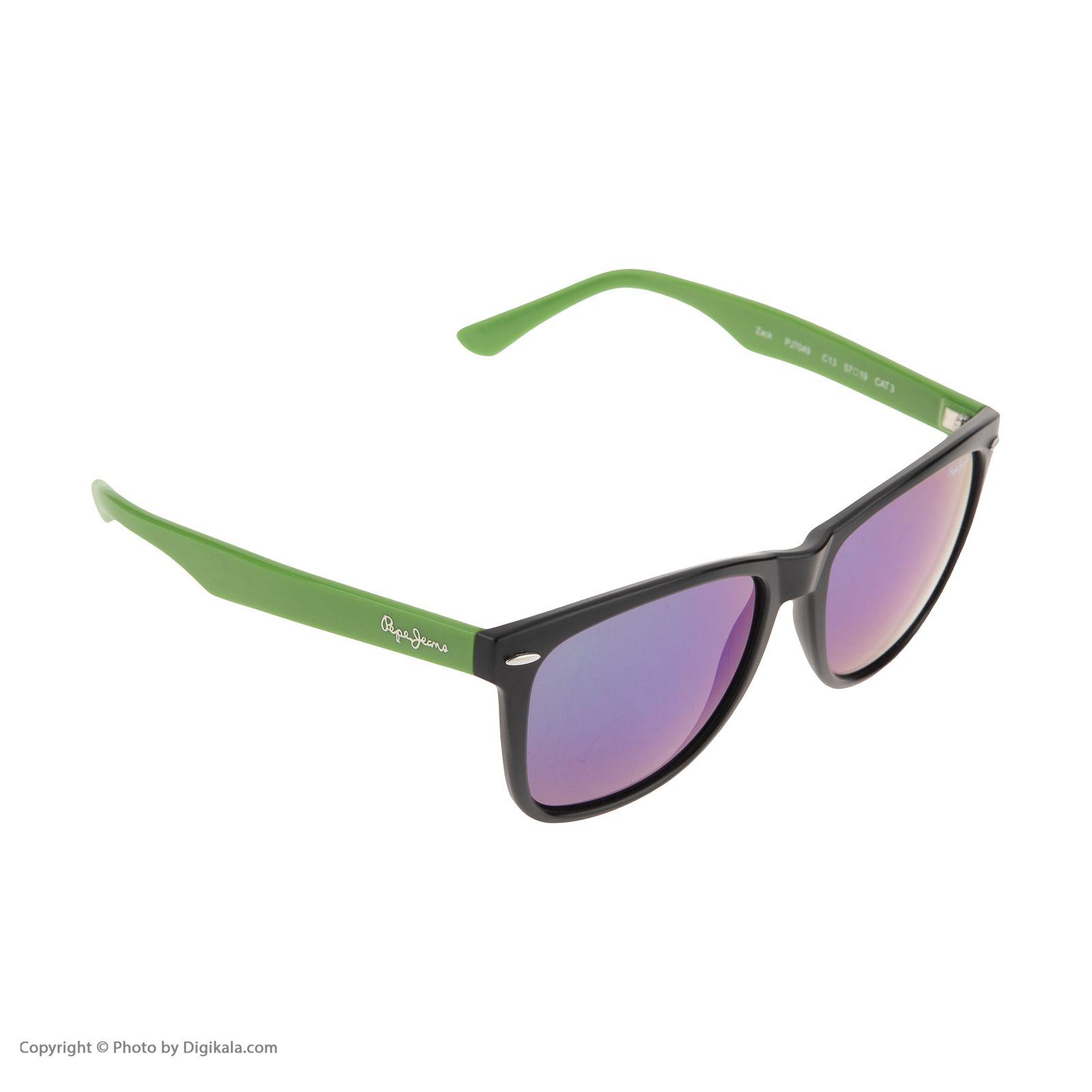 عینک آفتابی مردانه پپه جینز مدل PJ 7049 C13 -  - 3