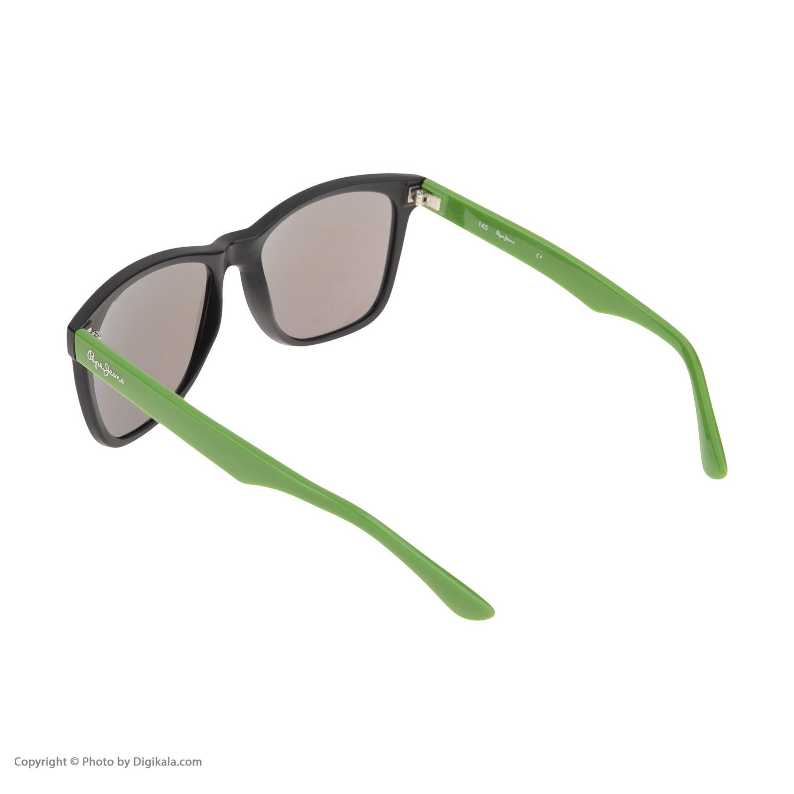 عینک آفتابی مردانه پپه جینز مدل PJ 7049 C13 -  - 4