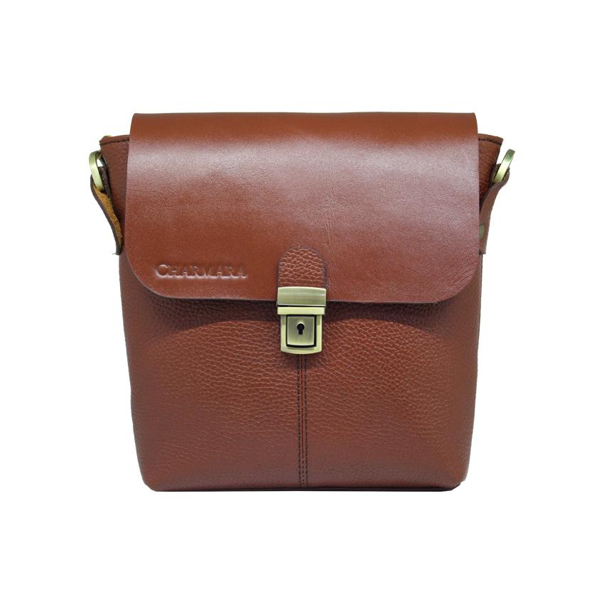 خرید                      کیف دوشی چرم آرا مدل d065
