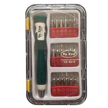 مجموعه 19 عددی سری پیچ گوشتی یاکسون مدل YX-6010