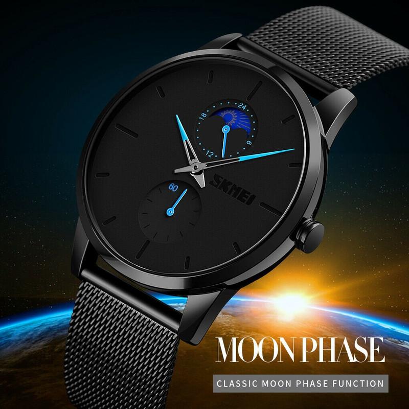 ساعت مچی عقربه ای مردانه اسکمی مدل 9208M