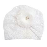 کلاه نوزادی دخترانه کد m807