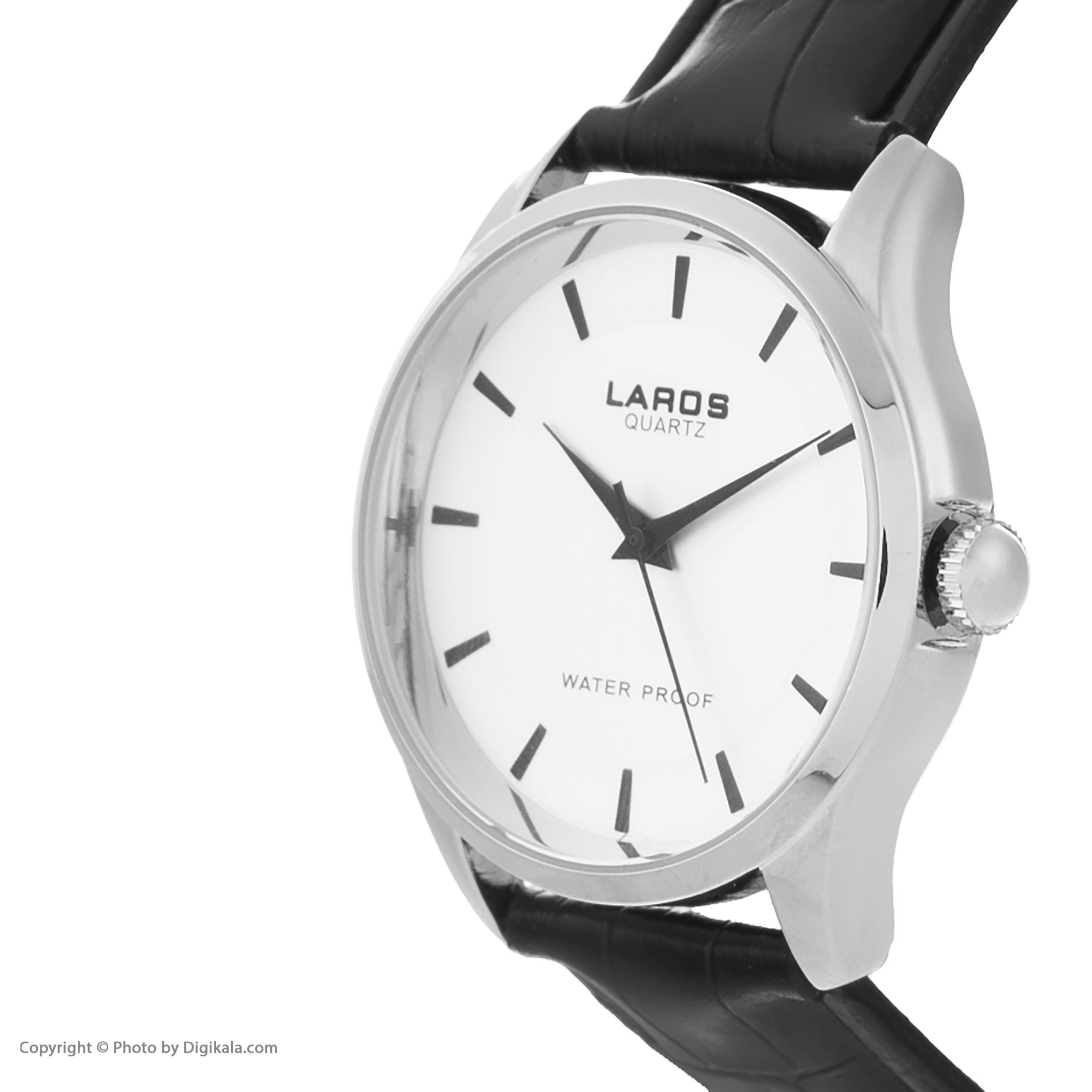 ست ساعت مچی  زنانه و مردانه لاروس مدل S-0116-65              اصل