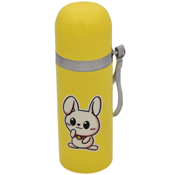 فلاسک کودک طرح خرگوش کد 01 گنجایش 0.35 لیتر