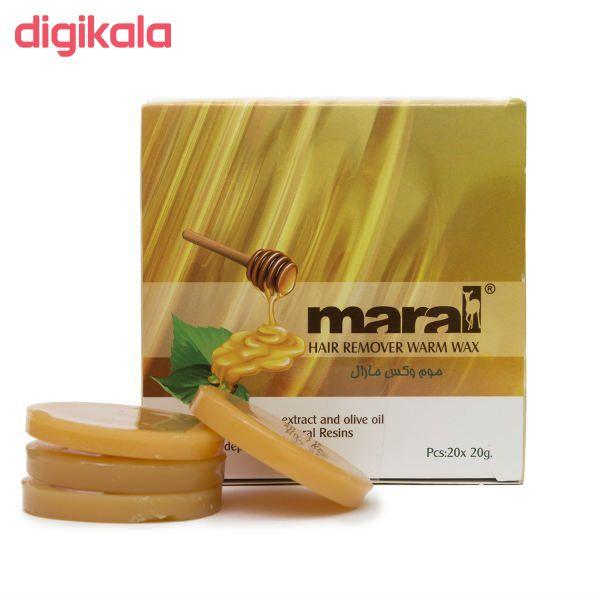 موم وکس موبر مارال مدل Honey وزن 20 گرم main 1 1