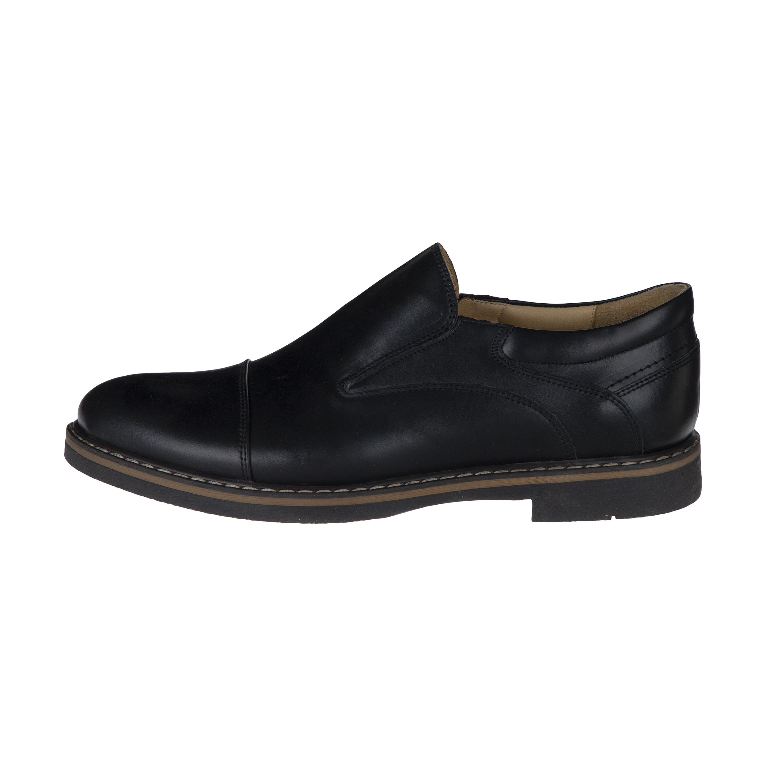 کفش مردانه ساتین مدل 7608A503101