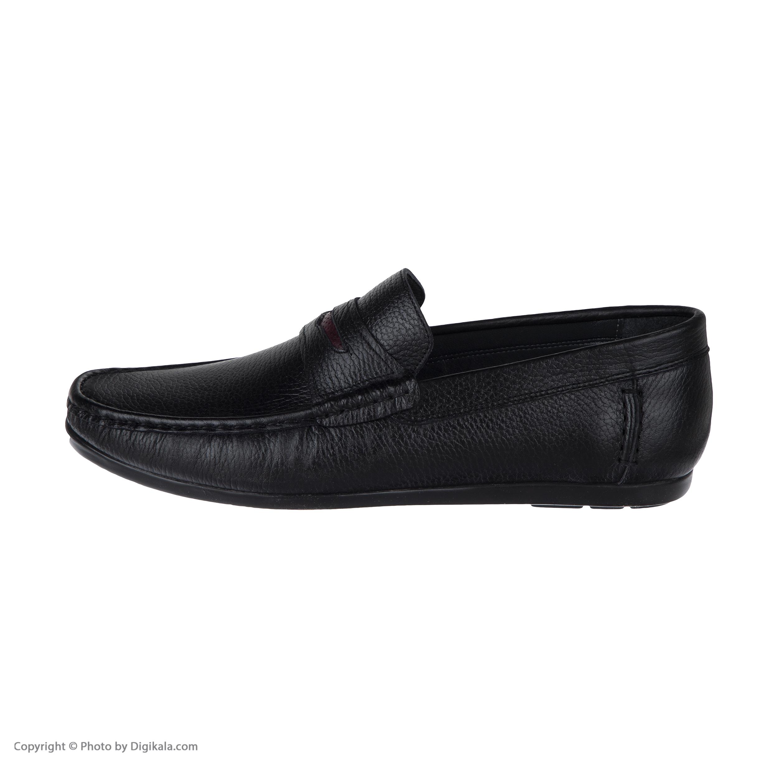 کفش روزمره مردانه ساتین مدل 7611A503101 -  - 3