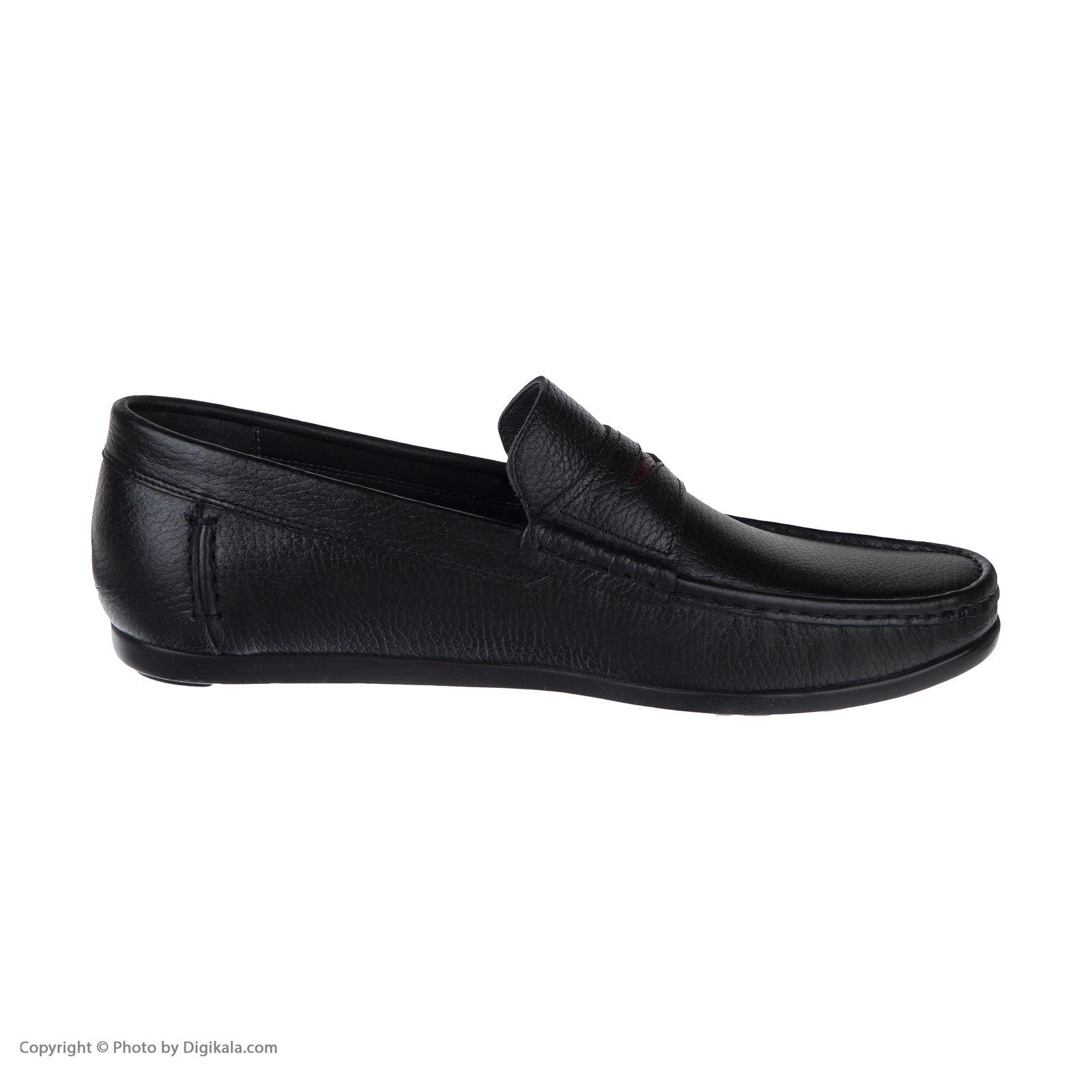کفش روزمره مردانه ساتین مدل 7611A503101 -  - 6