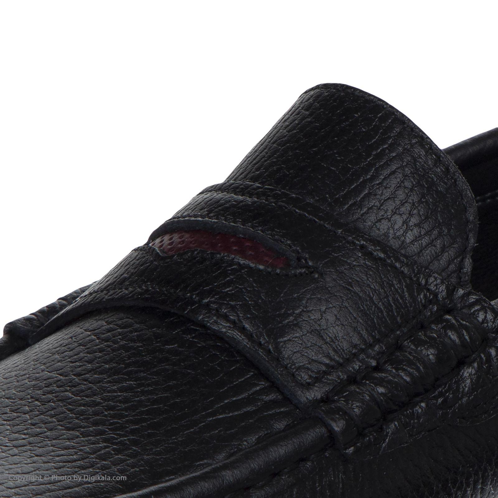 کفش روزمره مردانه ساتین مدل 7611A503101 -  - 9