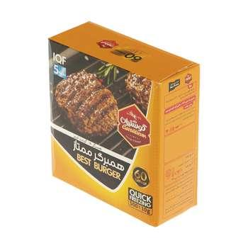 همبرگر ممتاز 60 درصد گوشت  گوشتیران - 500 گرم