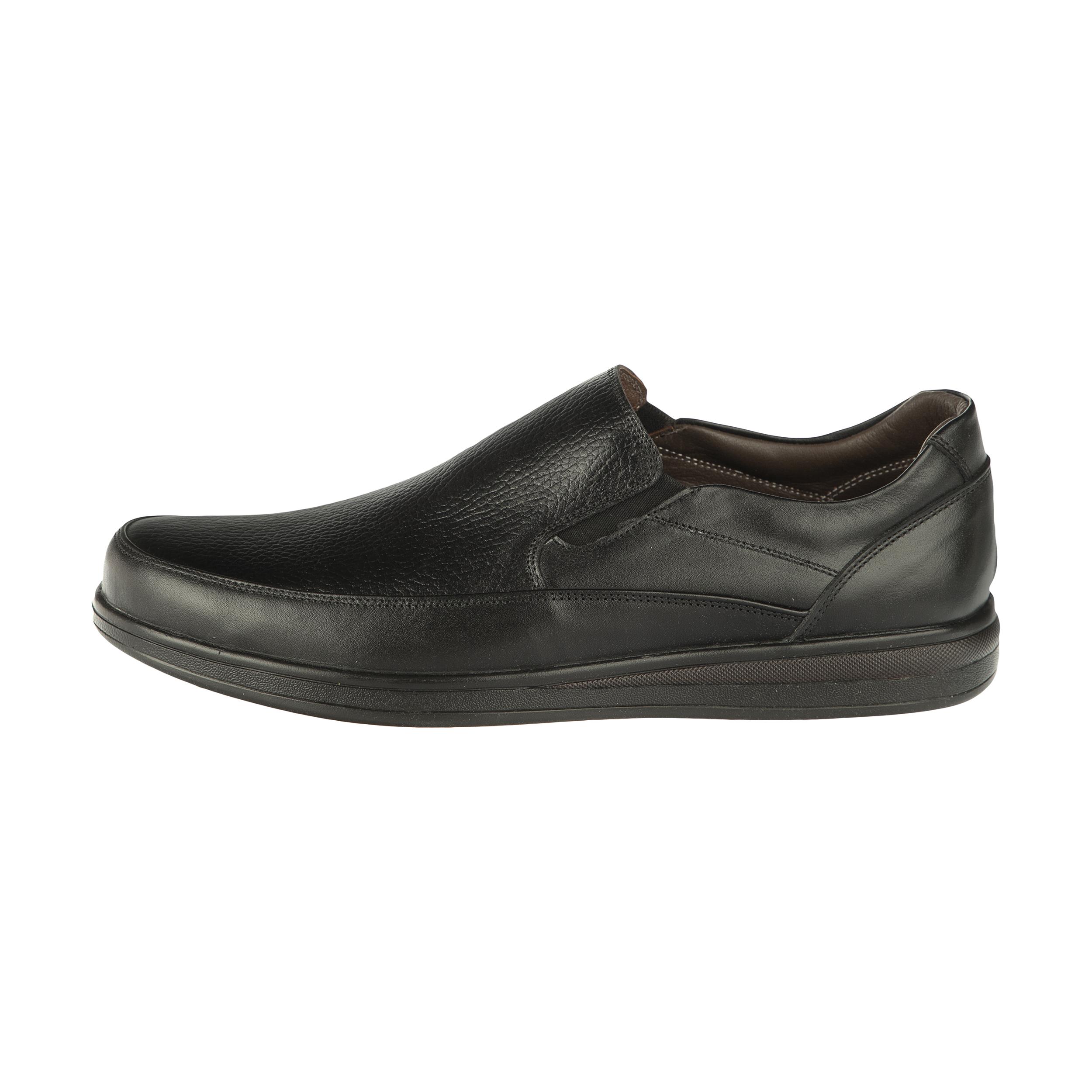 کفش روزمره مردانه ساتین مدل 7605A503101