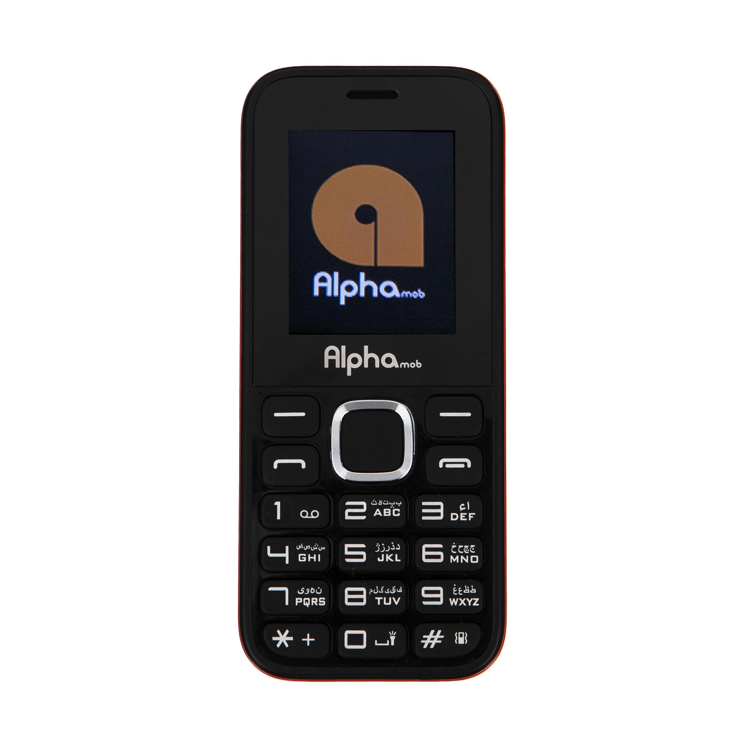 خرید                     گوشی موبایل آلفا موب مدل A6 دوسیم کارت