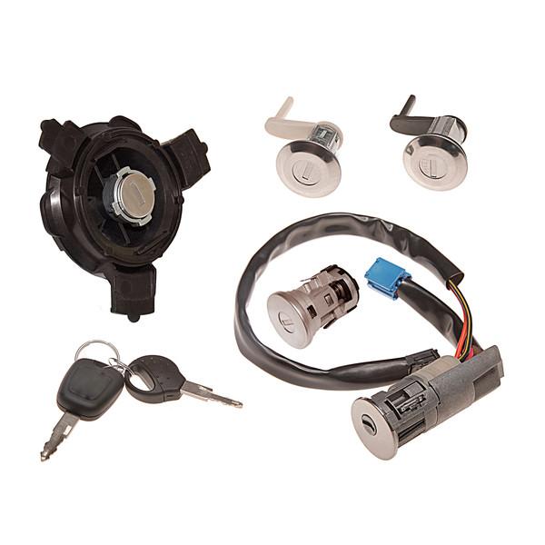 قفل و سوییچ و استارت ان ال سی مدل PGSET206 مناسب برای پژو 206 مجموعه 7 عددی