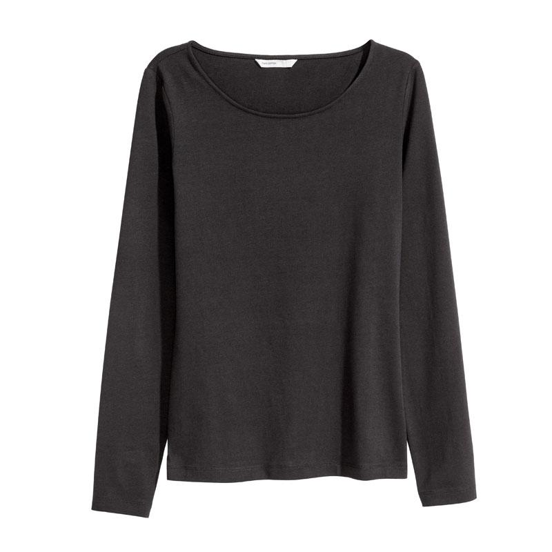 تی شرت زنانه اچ اند ام کد  F1-0121613049