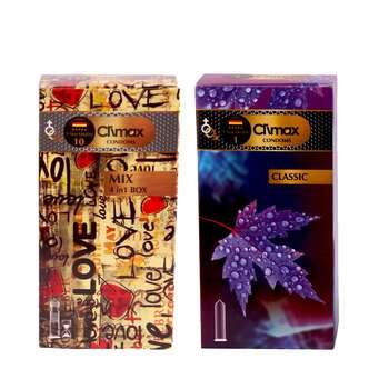 کاندوم کلایمکس مدل classic بسته 12 عددی به همراه کاندوم مدل mix بسته 12 عددی