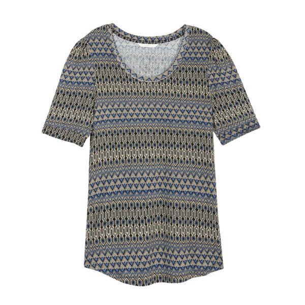 تی شرت زنانه اچ اند ام کد F1-0364841006