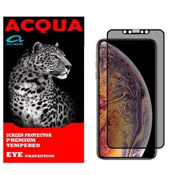 محافظ صفحه نمایش حریم شخصی آکوا مدل PRI مناسب برای گوشی موبایل اپل iPhone 11