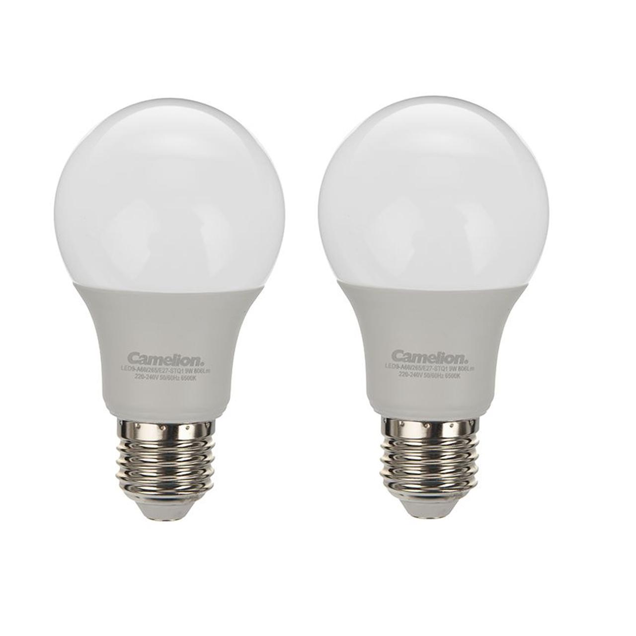 خرید                     لامپ ال ای دی 9 وات کملیون مدل STQ1 پایه E27 بسته 2 عددی