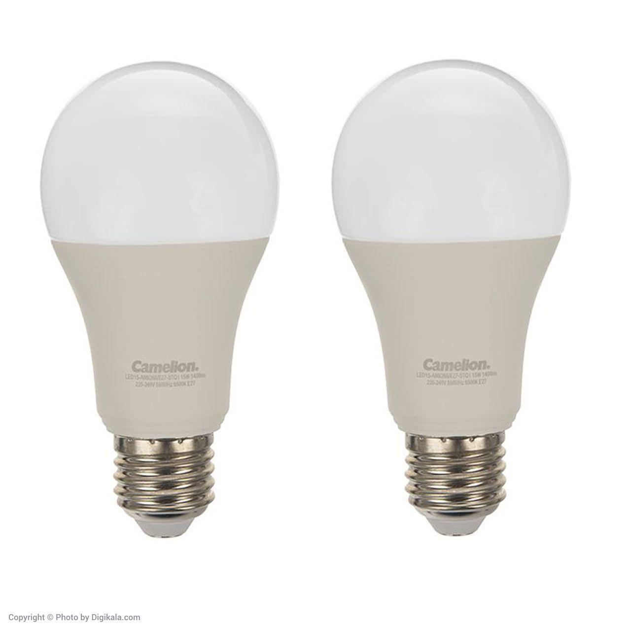 لامپ ال ای دی 15 وات کملیون مدل STQ1 پایه E27 بسته 2 عددی  main 1 1