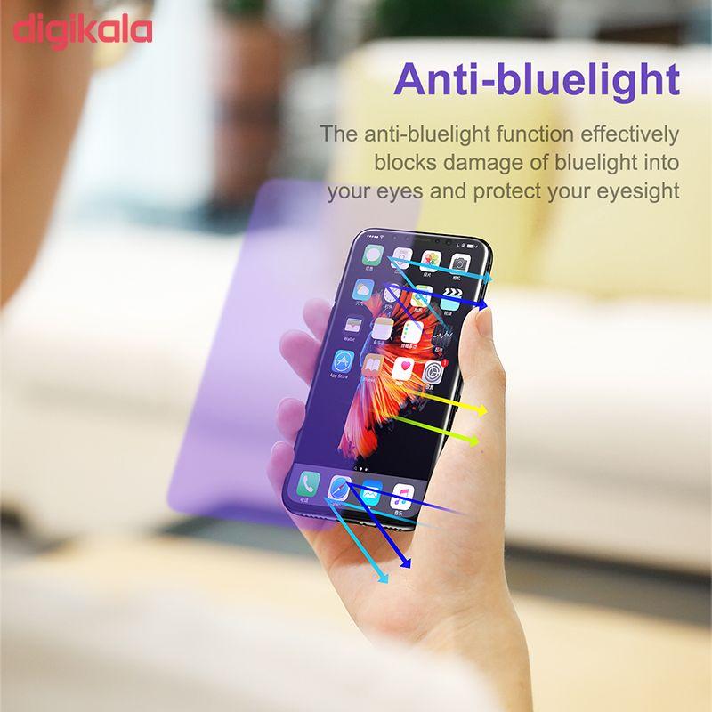 محافظ صفحه نمایش Anti-Blue light باسئوس مدل SGAPIPHX-GSC02 مناسب برای گوشی موبایل اپل iPhone X/XS main 1 2