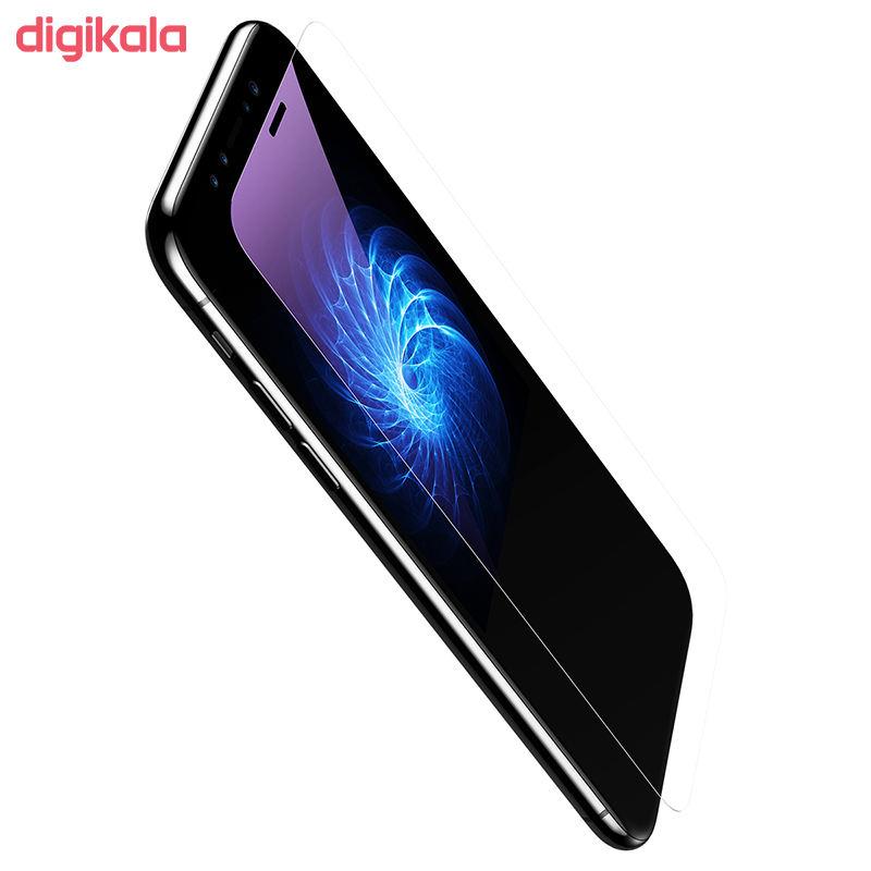 محافظ صفحه نمایش Anti-Blue light باسئوس مدل SGAPIPHX-GSC02 مناسب برای گوشی موبایل اپل iPhone X/XS main 1 6