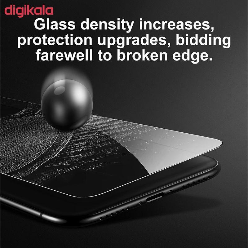 محافظ صفحه نمایش Anti-Blue light باسئوس مدل SGAPIPHX-GSC02 مناسب برای گوشی موبایل اپل iPhone X/XS main 1 8