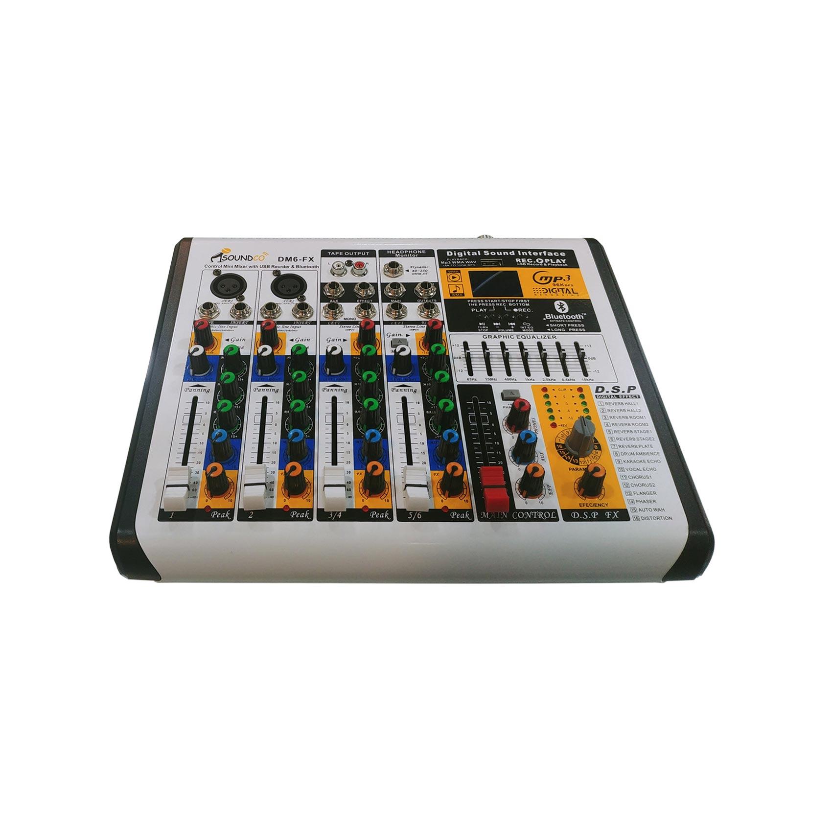 میکسر صدا سوندکو مدل DM6-FX