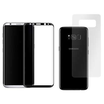 محافظ صفحه نمایش و پشت گوشی مدل TP24 مناسب برای گوشی موبایل سامسونگ Galaxy S8